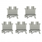 Jtron Terminal Rows / Combination Type Connection Terminals - Gray (5 PCS)