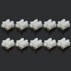 Jtron LED Fixtures Energy Saving Lamps Stud / Push Type Terminal Block - Transparent (10 PCS)