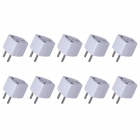 KPT-17 High Quality Multifunktions-Universal-EU Travel AC Power Adapter-Stecker (250V, 10A / 10 PCS)