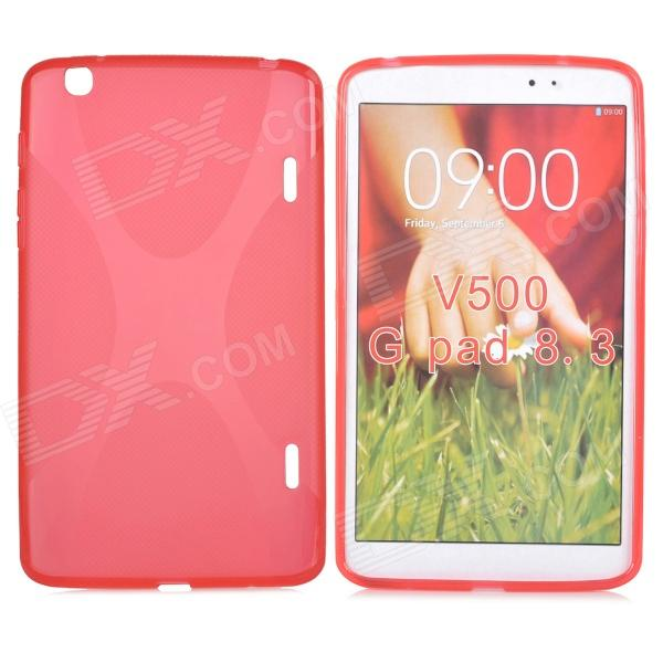 Protective TPU Back Case for LG G Pad 8.3 V500 - Red
