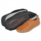 Naturehike NHSB Outdoor Viagens Oxford Cloth Shoes Bag - Preto
