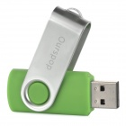Ourspop U018 USB 2.0 Flash Drive - Green + Silver (16GB)
