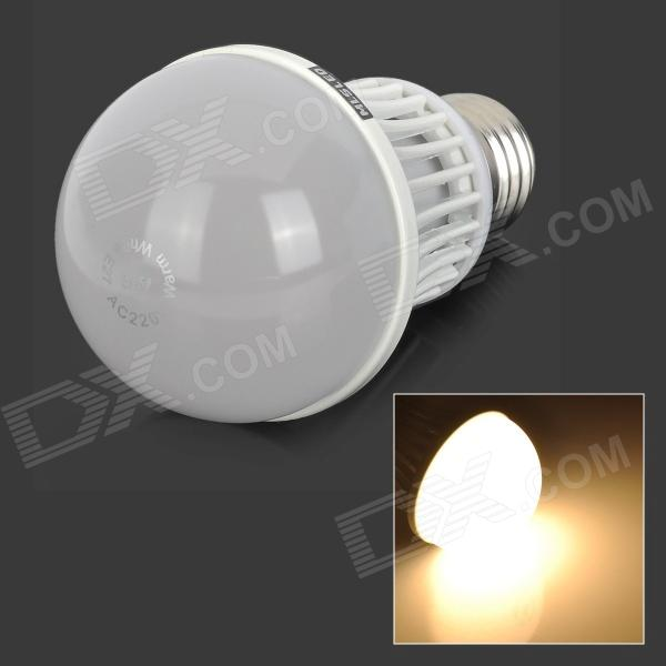 MLSLED E27 9W 90-SMD 3014 LED Warm White Light Bulb (AC 220~240V) gc e14 3w 170lm 3000k 64 3014 smd led warm white light corn bulb ac 90 240v