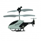 Brilink BH01 Mini 3.5-CH Rechargeable R/C Helicopter w/ Gyro - White + Black