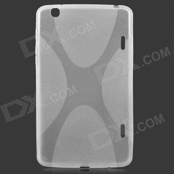 Protective TPU Back Case for LG G Pad 8.3 V500 - Translucent White