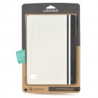 USAMS IPAJZ02 Jazz Series Protective Smart PU + PC Holder Case for Ipad AIR - White