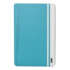 USAMS IPAJZ03 Jazz Series Protective Smart PU + PC Holder Case for Ipad AIR - Light Blue