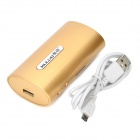 KULUO U7 Portátil Wireless Router / 5600mAh Power Bank - Golden
