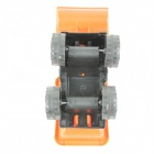 Hand Push Mini Bulldozer - Orange + Black