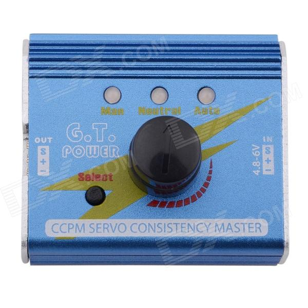 G.T.POWER 3 MODES G.T CCPM Futaba 1~3 Servos / ESC Consistency Master - Blue 595183 001 connect with printer motherboard full test lap connect board