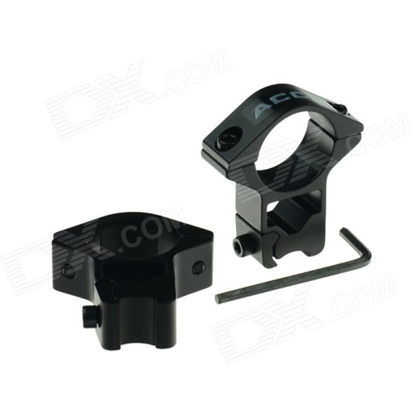 ACCU 25mm Gun Rail Mount for 11mm Rail - Black (Pair)Gun Mounts/Rails<br>Form ColorBlackBrandACCUMaterialAluminum alloyQuantity2 DX.PCM.Model.AttributeModel.UnitGun TypeSuitable for guns with 11mm railRail Size11mmMount TypeOthersRing Diameter25mmCertificationSolid construction with two pegs to decrease jitter, aluminum alloy shell; Caliber: 25mm; Easy installation; Comes with a wrench.Packing List2 x Holders 1 x Wrench<br>