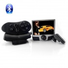 "CB-01 2.5"" LCD Universal Remote Control Car MP3 / MP4 Bluetooth Speaker Headset - Black (2GB)"