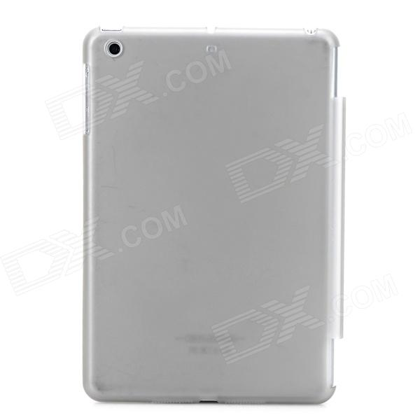 Matte Protective PC Back Case for Retina Ipad MINI 2 - Translucent Black