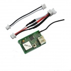 Walkera NEW V120D02S-Z-06 Receive Module RXF-01 Compatible w/ t S-FHSS Futaba Transmitter - Green
