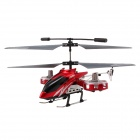 Brilink Z008 Rechargeable 4-CH Indoor R/C Helicopter w/ Gyro - Red + Black