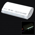 5800mAh External Battery Charger w/ Micro USB Flashing Charging Cable for Samsung - White