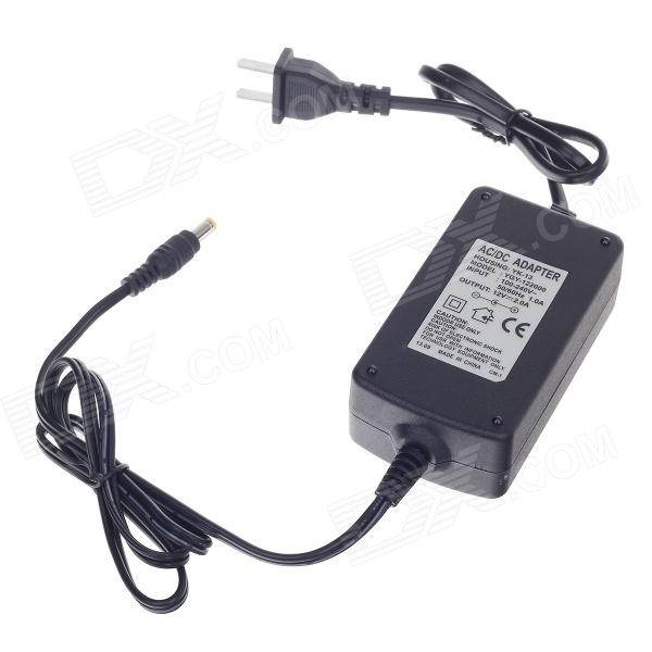 YK-13 AC Power Supply Adapter for CCTV Security Camera - Black (AC 100~240 / US Plug / 5.5 x 2.1) ac adapter power supply for xbox 360 kinect sensor us plug 100 240v
