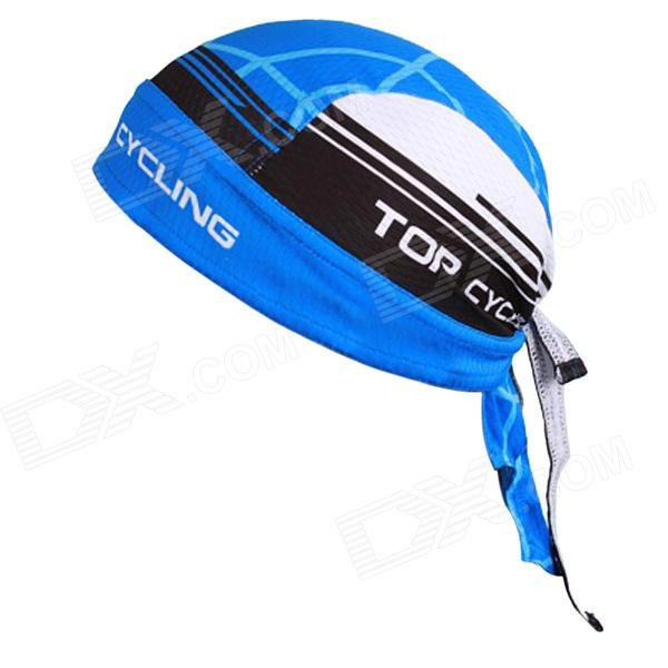 TOPCYCLING Cycling UV Protection Sweat-absorbent Hat - Sky Blue + White