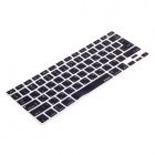 XSKN 799223332H06 Protective Keyboard Cover for Apple Macbook Laptops - Black (Hebrew)