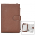 Protective PU Leather Case Cover for Sony PRS-T1 / PRS-T2 - Light Brown