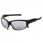 CARSHIRO XQ077 Outdoor UV400 Protection PC Frame Resin Lens Sunglasses for Men - Black