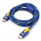 ENK-HH15 1080p HDMI V1.4 macho a cable macho + hembra HDMI a micro / mini adaptador HDMI macho - azul