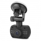 "DK620 Mini 1.5"" TFT CMOS 5.0MP Wide Angle Car DVR 2/ 12-IR LED / Mic / G-Sensor / TF - Black"