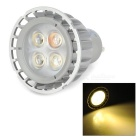 ZnDiy-BRY GU10-5W GU10 5W 214lm 3000K 4-LED Warm White Spotlight Bulb (85~265V)