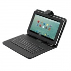 iRulu 9' Dual Core Android 4.2.2 Tablet PC w/ 512MB RAM, 8GB ROM, Dual Camera, Wi-Fi, Keyboard Case