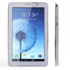 JXD P1000s 7' HD Dual-Core Dual-SIM Android 2.3.5 Phone Tablet PC w/ Wi-Fi / G-sensor - White