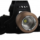 SingFire SF-557D 4-Mode 750lm White Rotation Zooming LED Headlamp w/ 2 x 18650+EU plug