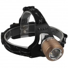 SingFire SF-558 2 Cree XP-E R2 4-Mode 200lm White+Green LED Zooming Headlight - Brown (2 x 18650)