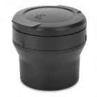 C-4S Folding Type Plastic Ashtray - Black