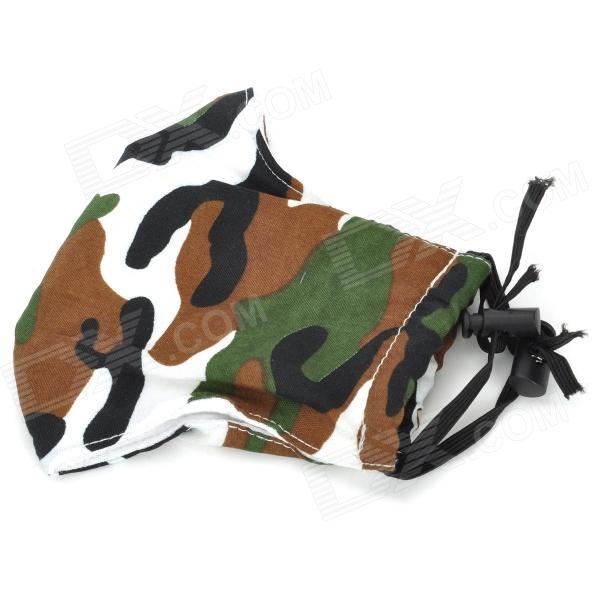 Cycling Cotton Anti-Dust / Windproof Mouth Mask - Army Green Camouflage