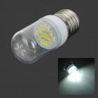 SENCART E27 1.8W 110lm 6000K 15-SMD 5730 LED White Light Bulb (220~240V)