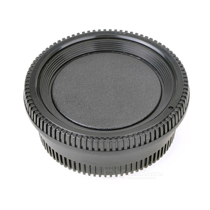 Body Cap + Rear Lens Cap Set for Nikon Camera