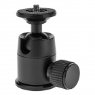 Magnesium Aluminum Alloy Ball Head w/ Quick Release Plate for SLR cameras - Black