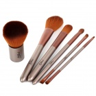MSQ 6-in-1 Cosmetic Make-up Set - Coffee + Light Brown