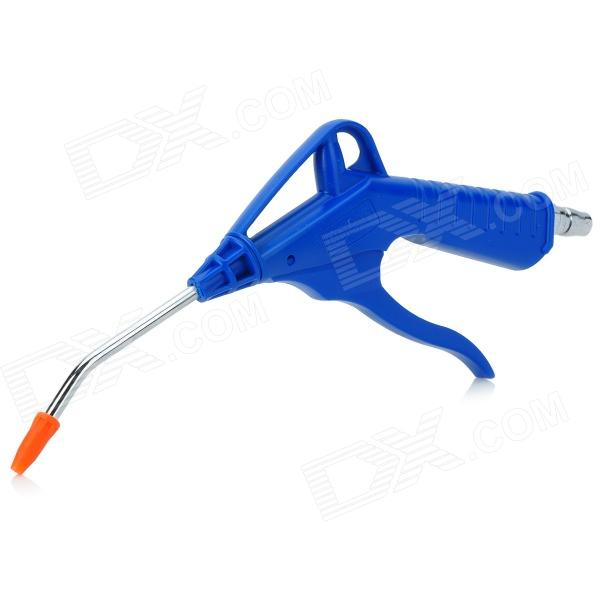 BT-1.100A Car Cleaning ABS Air Blow Gun - Silver + Blue
