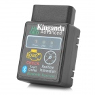 KINGANDA HH327 12V 45mA Bluetooth V1.5b OBDII Car Scanning Tool - Black