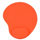Wrist Support Cloth + EVA Mouse Pad - Orange + Black