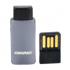 KINGMAX KOTGR-01 OTG TF Card Reader w/ USB Adapter for Cell Phone / Tablet PC - Black + Light Grey