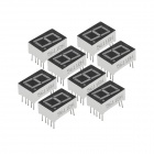 High Brightness Red 1-Digit Common Anode Seven Segment Display (10PCS)