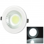 12W 1000lm 6000K COB LED White Light Down Lamp / Spotlight (AC 85~265V)
