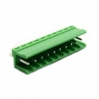 Jtron PBC Pluggable Terminal Rows / Straight 10-Pin 3.96mm Pitch - Green (10 PCS)