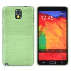 Horizontal Stripe Style Protective Plastic Back Case for Samsung Galaxy Note 3 N9006 / N9008 - Green