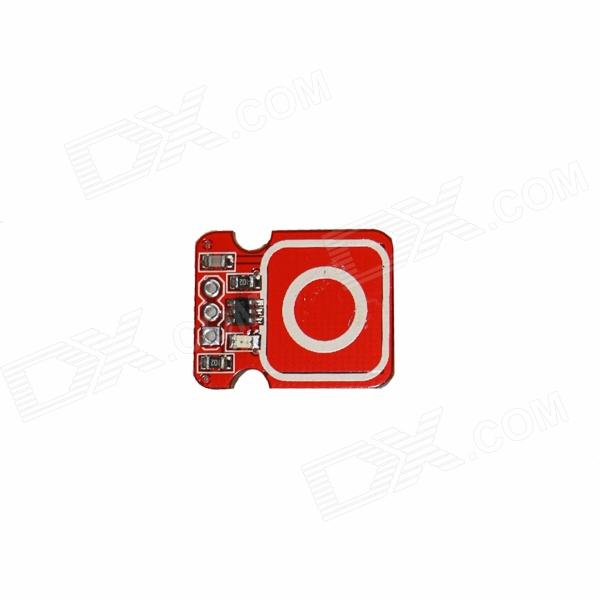 Produino Electronic Touch Sensor Button Template / Button Brick - Red ghjnbdjeujyyst ecnhjqcndf для ауди 80