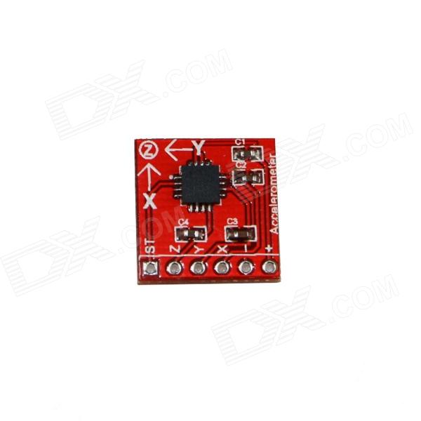 Produino ADXL335 Triple Axis Accelerometer / Analog Sensor for Arduino - Red