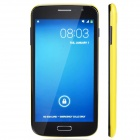 "JELLY BEAN SK2 Dual Core Android 4.2.2 WCDMA Bar Phone w/ 5.5"", Wi-Fi, Camera - Yellow + Black"