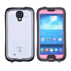 iPega Si019 Ultra-Thin Waterproof Protective Case for Samsung Galaxy S4 i9500 - Black + Pink